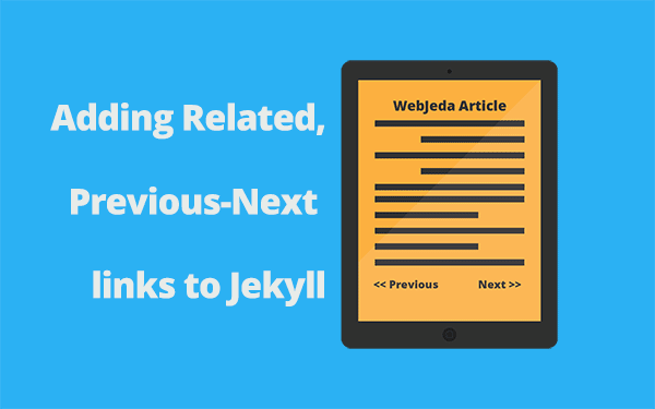How to Add Related or Previous Next Pagination in Jekyll?