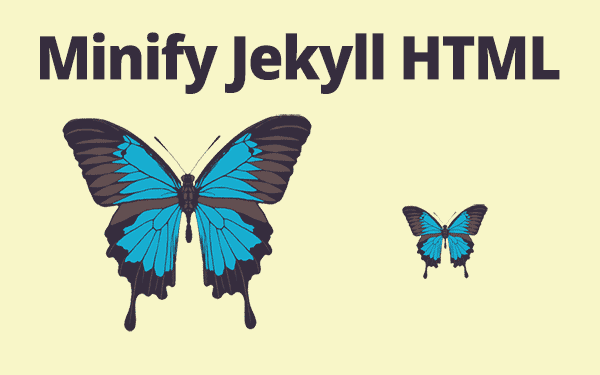 Crunch your Jekyll HTML to negligible size!