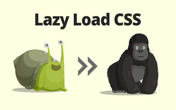 Lazy Loading Css to drastically Improve Page Speed