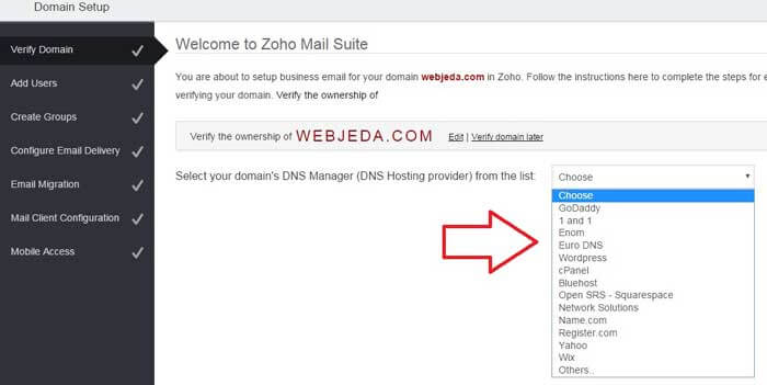 free email hosting for domain